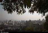 هوای تهران در مرز خطر