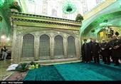 غبارروبی مرقد امام رضا (ع) - مشهد