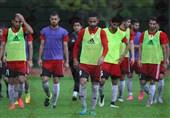 امید ابراهیمی - تمرین تیم ملی فوتبال در مالزی