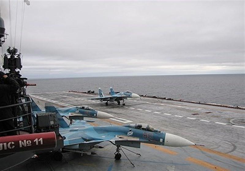 روسیا تسحب حاملة طائرات وطراد من قبالة سوریا