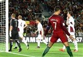 پرتغال قاطعانه پیروز شد/ رونالدو گل زد و پنالتی خراب کرد