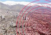 زلزله 4 ریشتری کوهبنان را لرزاند