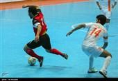 دیدار تیم های فوتسال گیتی پسند اصفهان و مس سنگون