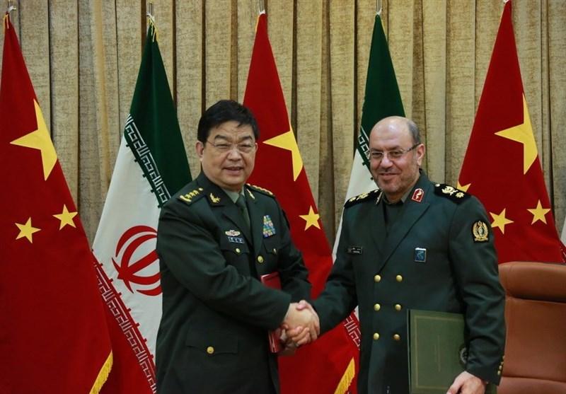 سردار دهقان و وزیر دفاع چین