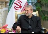 دیدار رئیس دومای دولتی روسیه با لاریجانی