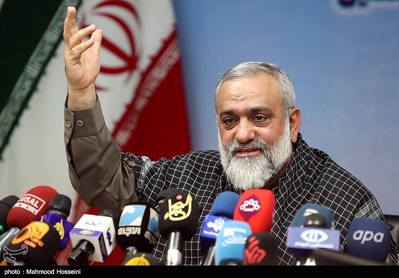 نشست خبری سردار محمدرضا نقدی رئیس سازمان بسیج مستضعفین به مناسبت هفته بسیج