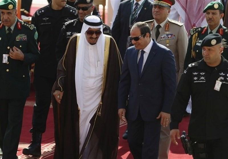 السیسی و ملک سلمان
