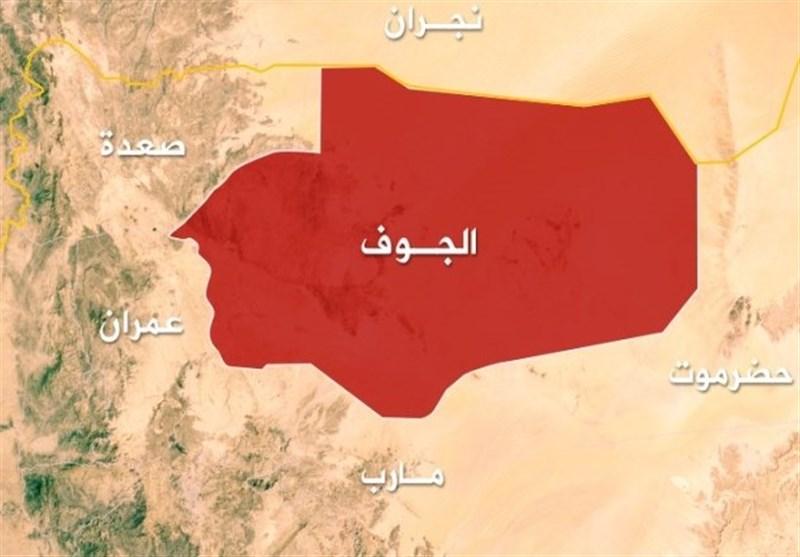 یمن| انهدام خودروی نظامی مزدوران در الجوف/ زخمی شدن یمنیها در الحدیده