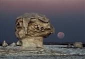 ماه و سنگ