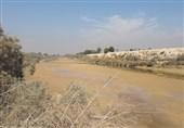رودخانه خشک شده زهره هندیجان3