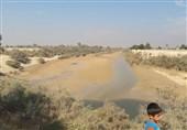 رودخانه خشک شده زهره هندیجان5