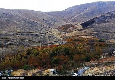 ایران کے صوبہ ہمدان میں خزاں کی آمد