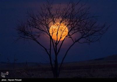 رصد پدیده ابر ماه در سنندج