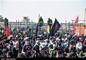 خروج زائران اربعین حسینی از مرز مهران