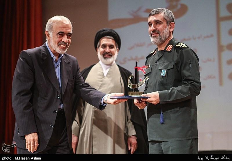 مراسم پنجمین یادواره شهید حسن طهرانیمقدم
