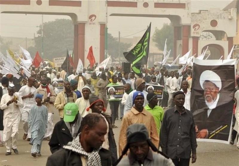 Nijerya Müslümanları Şeyh Zakzaki'nin Tutukluluk Halinin Devam Etmesini Protesto Etti