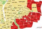 حلب شرق مناطق تحت کنترل تروریستها