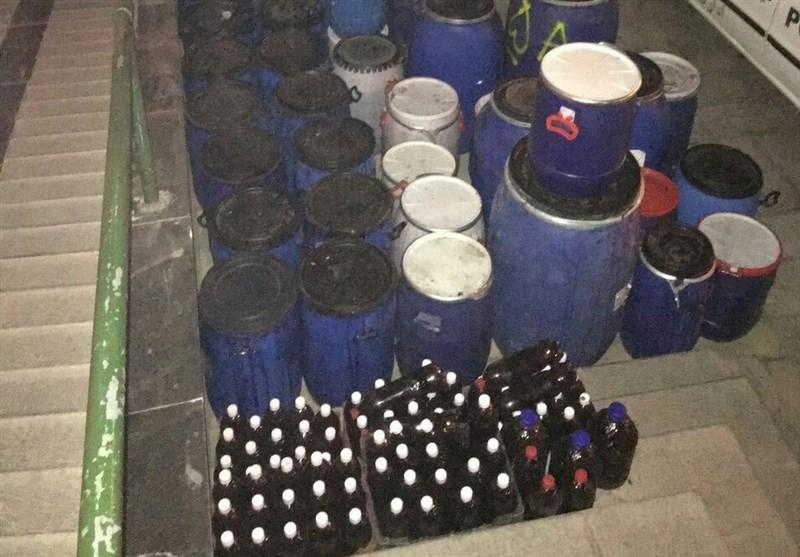 بیش از291 هزار بطری مشروبات الکلی در کردستان کشف شد