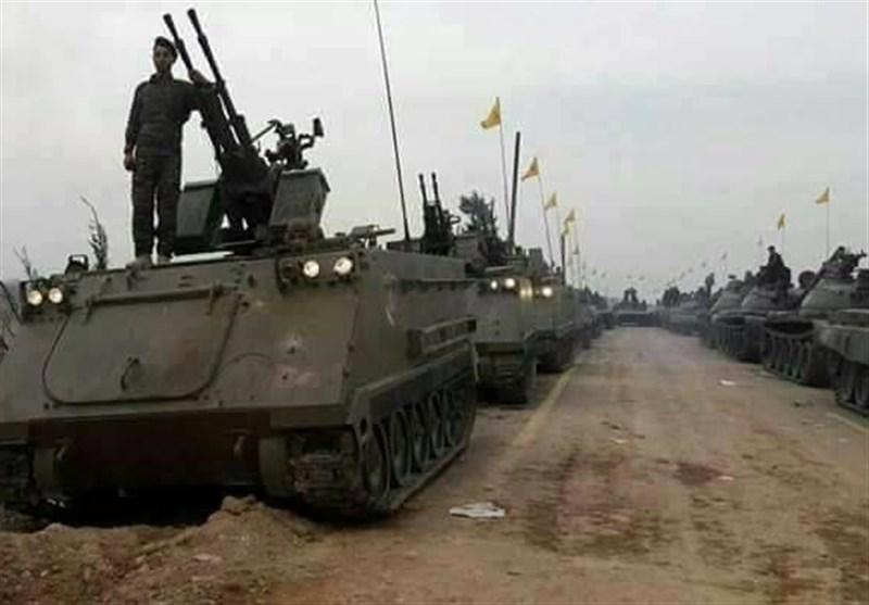 رژه نظامی حزب الله در القصیر