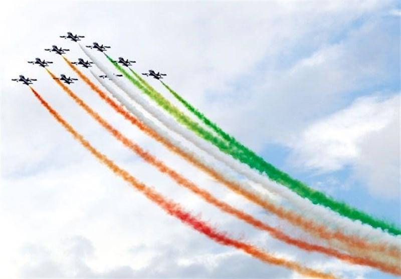"""اجرای نمایش هوایی توسط هواپیماها و پرندههای """"6 کشور"""" در آسمان کیش + جزئیات"""