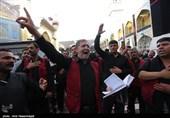 زائران اربعین حسینی در کربلا و نجف