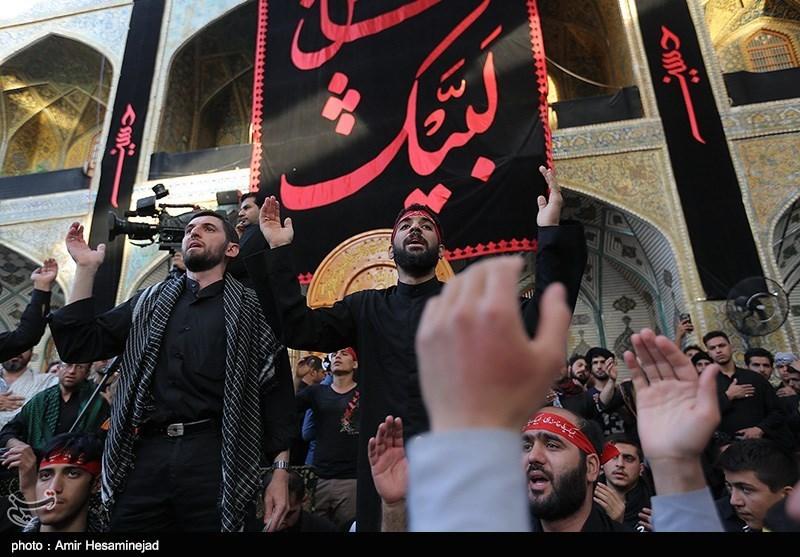 Westerners among Millions of Pilgrims Marching toward Karbala to Mark Arbaeen