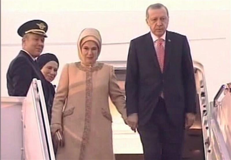 ترک صدر پاکستان پہنچ گئے