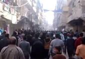 حلب تظاهرات علیه تروریستها