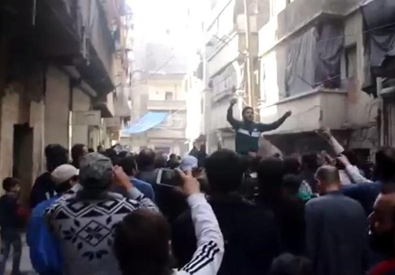 أهالی حلب الشرقیة: مجلس قیادة المسلحین لصوص ومحکترون