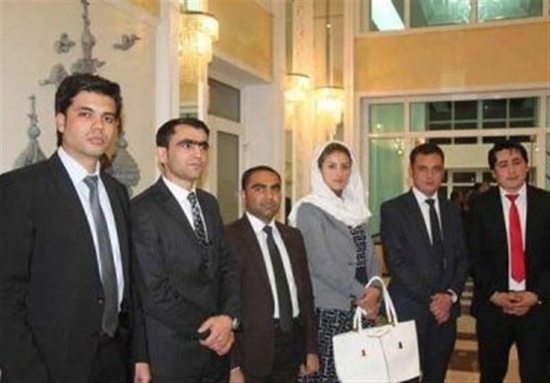 دیپلمات های افغان در روسیه