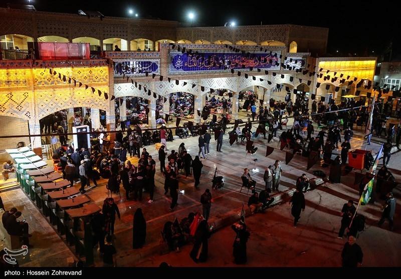 موکب آستان قدس رضوی در مرز شلمچه روزانه میزبان ۱۰ هزار زائر است