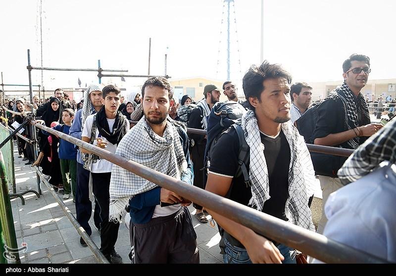 کرمانشاه| یک میلیون زائر اربعین حسینی از مرز خسروی تردد میکنند