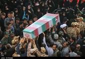 تشییع وتدفین پنج شهید گمنام و یک شهید مدافع حرم - اصفهان