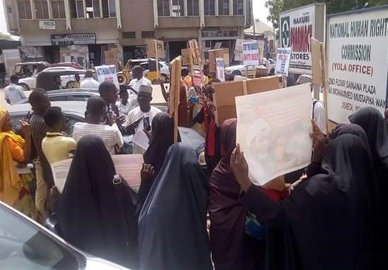 مظاهرات فی نیجیریا للمطالبة باطلاق سراح الشیخ زکزکی+صور