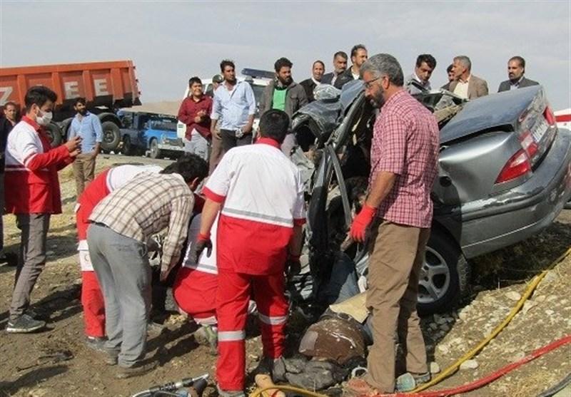 تصادف در محور پلدختر -کرمانشاه 2 کشته و 2 زخمی در پیداشت