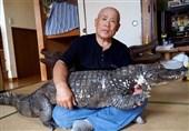34 سال زندگی مشترک با حیوانی خطرناک + عکس