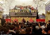 زائرین اربعین حسینی در کربلای معلی