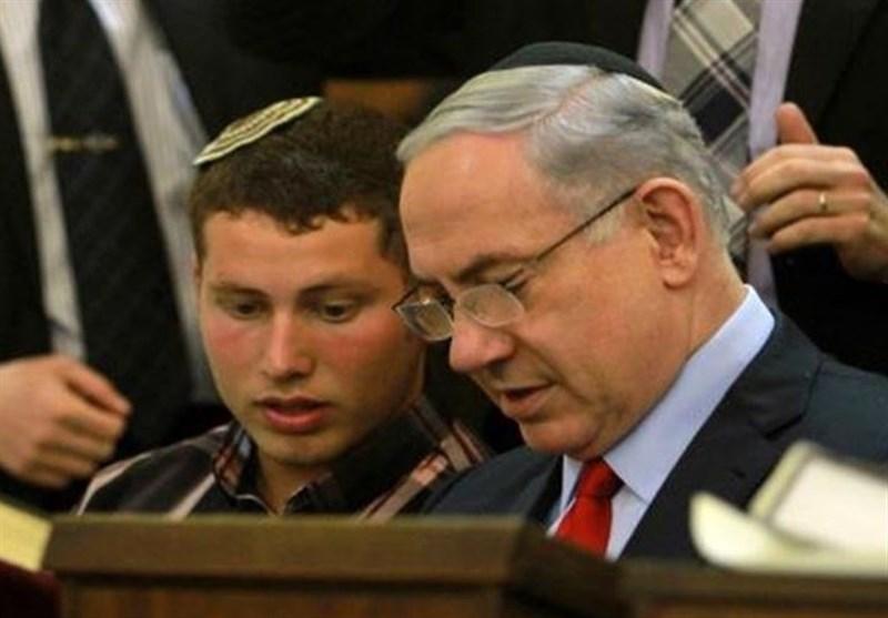 نتانیاهو و پسرش