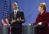 اوباما و مرکل