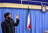 مداحی سید رضا نریمانی در محضر رهبرانقلاب+ صوت