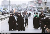 زائران اربعین حسینی - کربلا