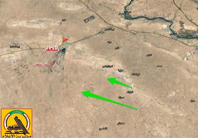 Telafer Batısında Yer Alan İki Köy Daha IŞİD Teröristlerinden Temizlendi