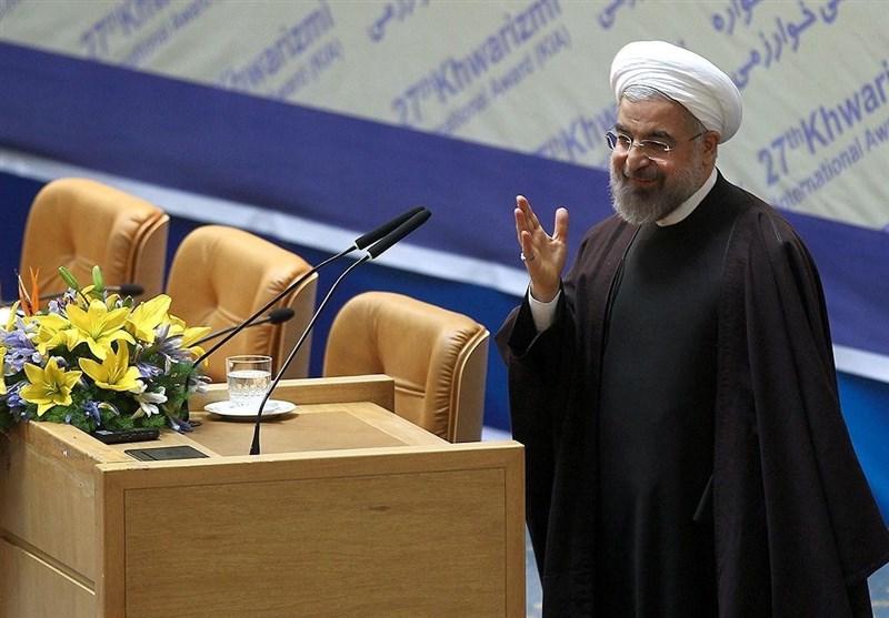 روحانی - اجلاس سران . بیست و هفتمین جشنواره بینالمللی خوارزمی . یکشنبه 11 اسفند