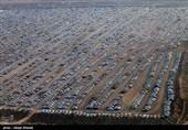 دریافت 50 هزار تومان از زائران اربعین بابت پارکینگ + عکس و واکنش مسئولان