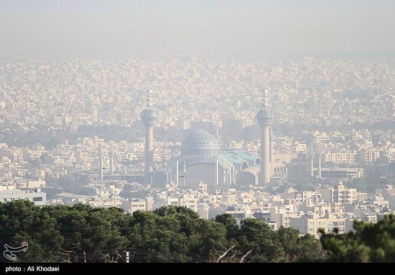 شاخص کیفی هوای اصفهان در مرز ناسالم قرار دارد
