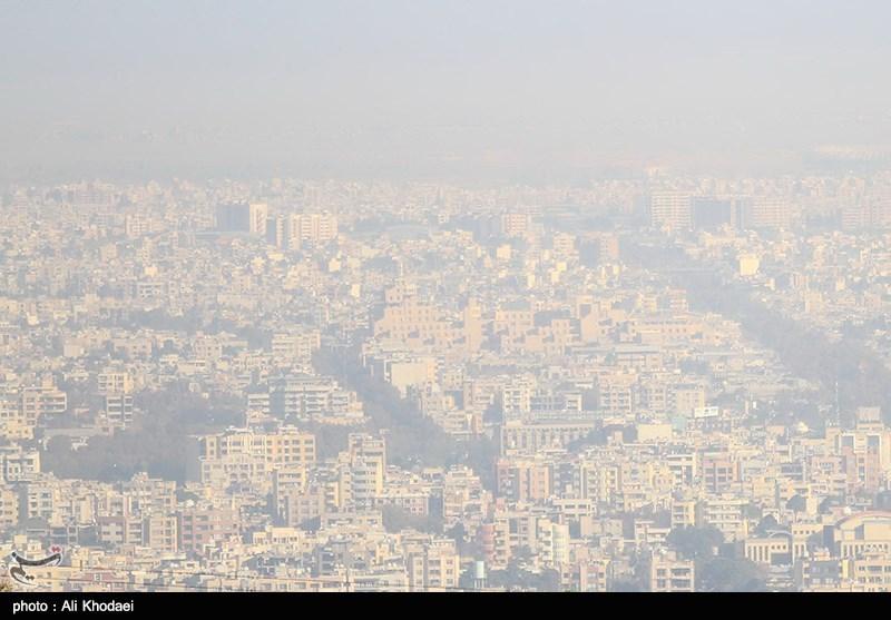 """هوای اصفهان امروز هم برای گروههای حساس """"ناسالم"""" است"""