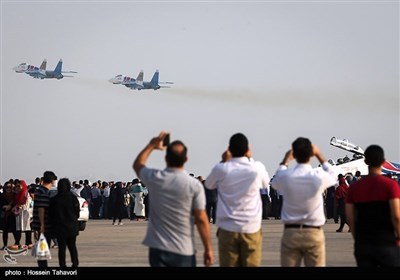 Iran's International Air Show 2016 on Kish Island