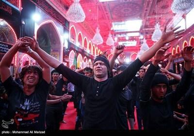 عزاداری اربعین حسینی در کربلا