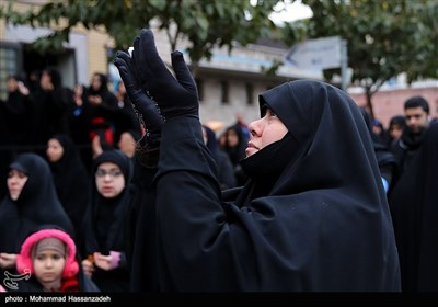 Tehran Hosts Massive Arbaeen Procession