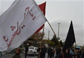مراسم پیاده روی جاماندگان اربعین حسینی در بوهمن و پردیس